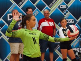 Cornhusker State Games19 - Volleyball